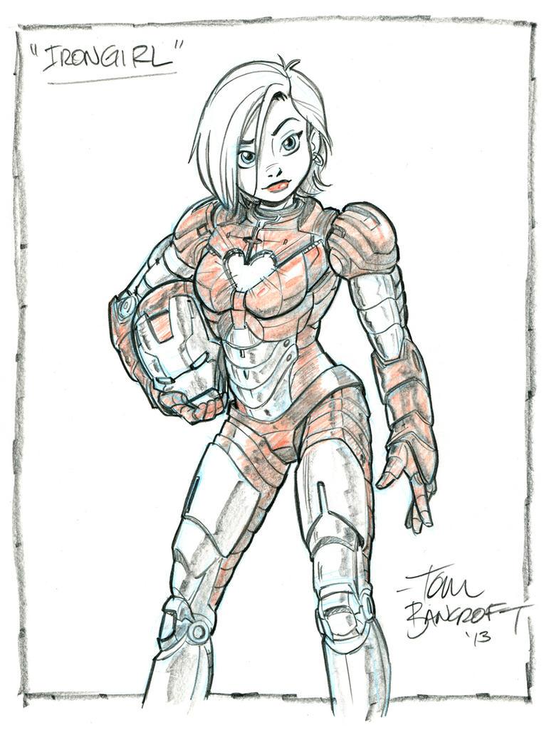 Iron Girl by tombancroft