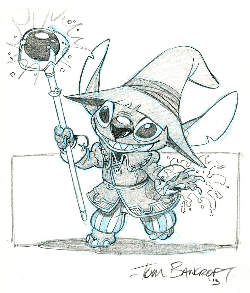 Stitch Mage by tombancroft