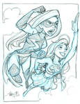 Ms. Marvel and Supergirl
