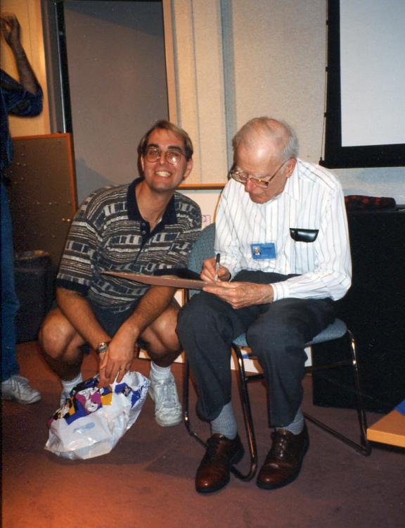 Disney Legend Frank Thomas and me