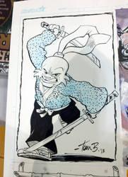 Usagi Yojimbo by tombancroft