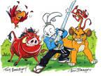 Usagi and the Gang