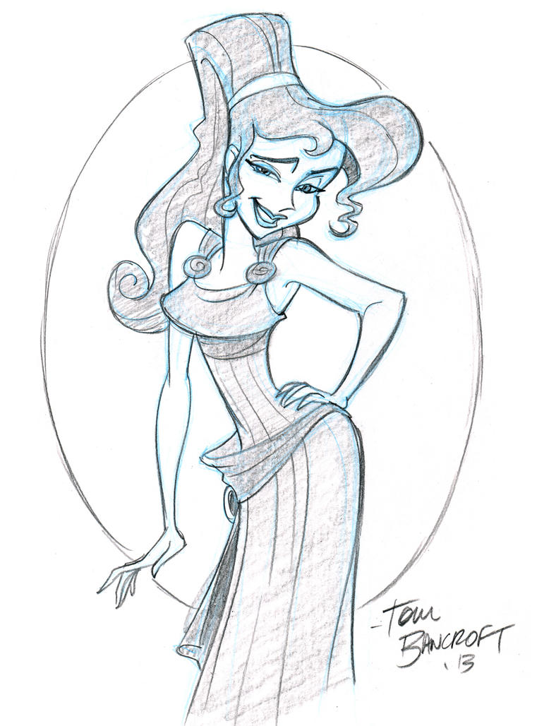 Meg from Hercules by tombancroft