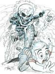 Lil' Ghost Rider- Patron sketch request