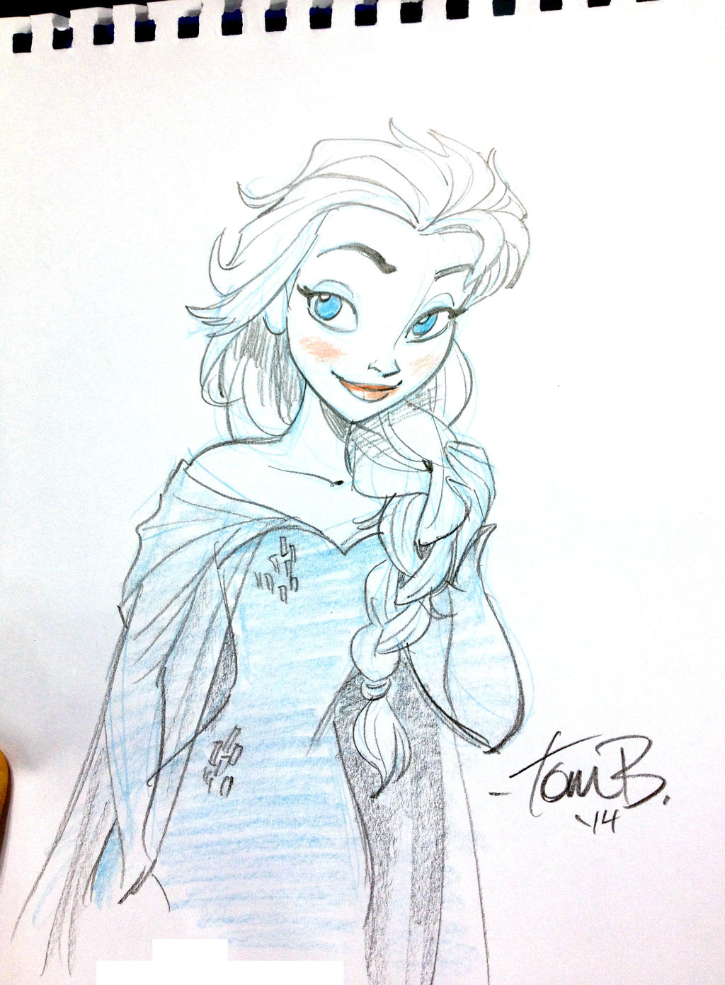 Indy Pop LAST Elsa by tombancroft