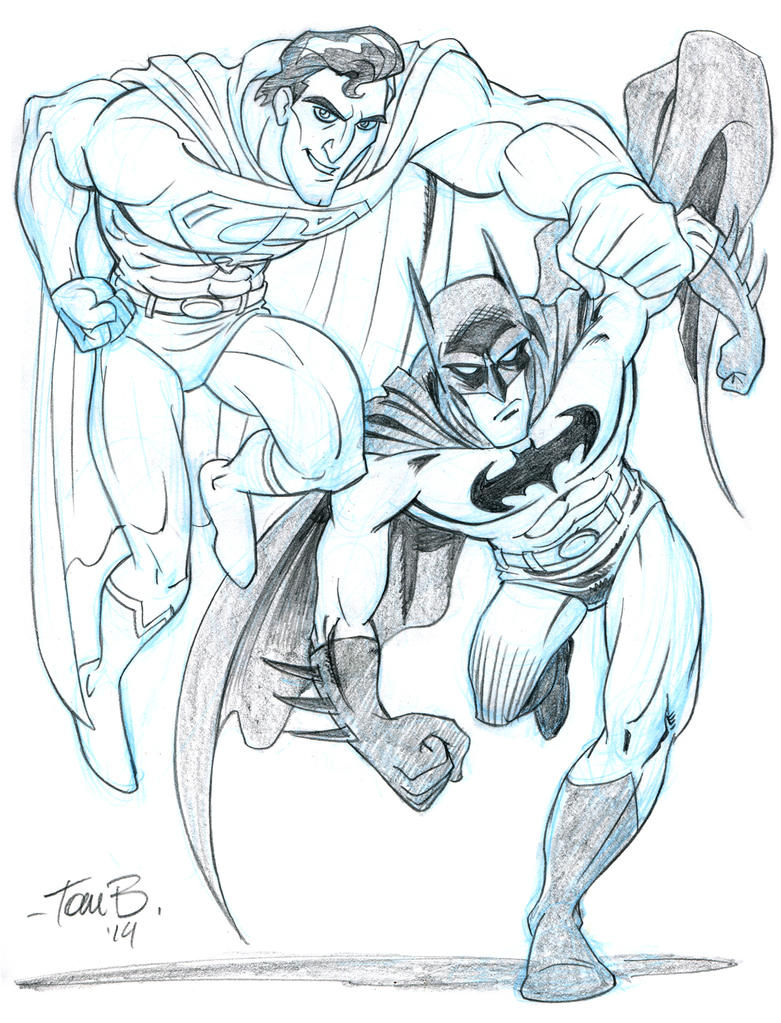 Superman and Batman, Italiano? by tombancroft