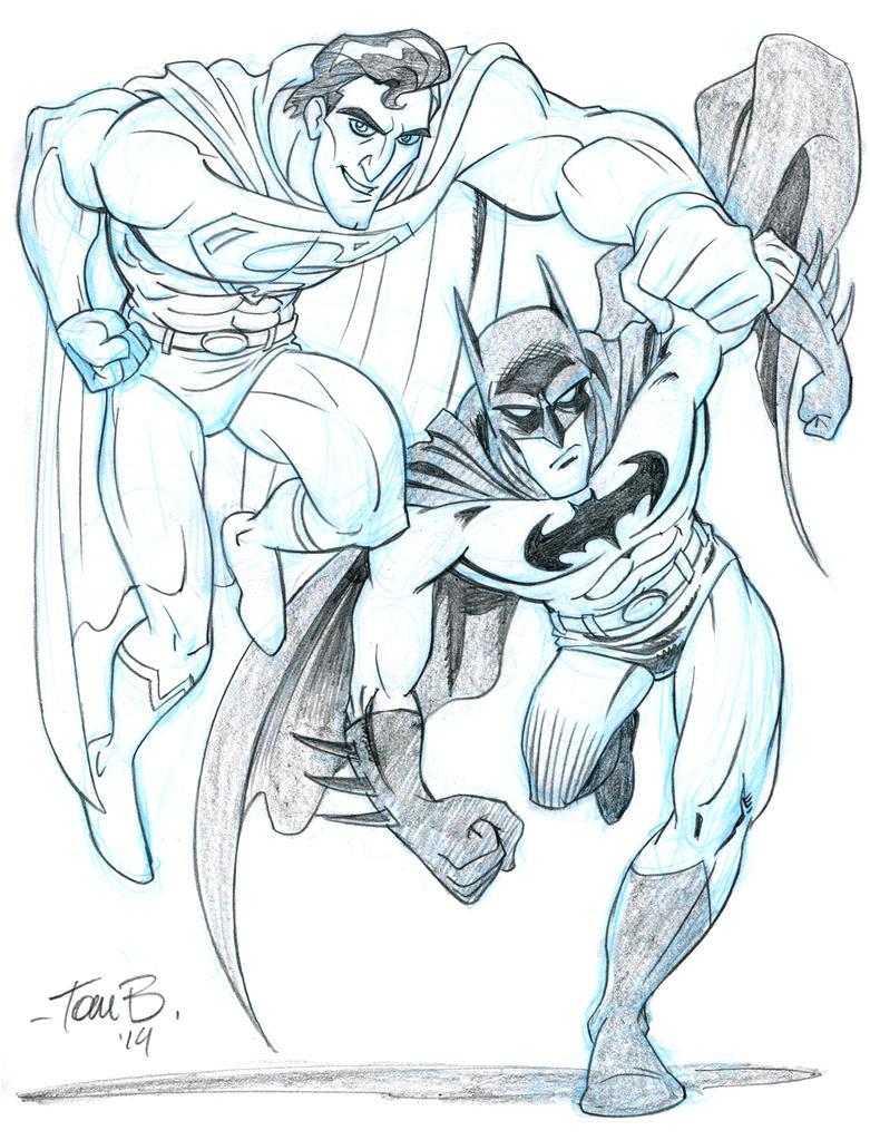 Superman and Batman, Italiano? by tombancroft