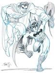 Superman and Batman, Italiano?