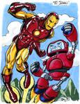 Iron Man VS Gizmo