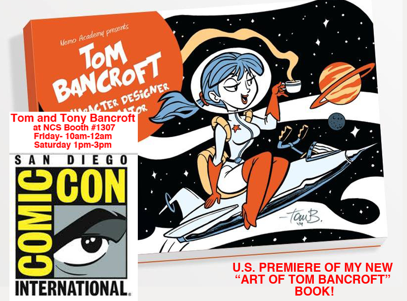 SDCC 2014, Booth by tombancroft