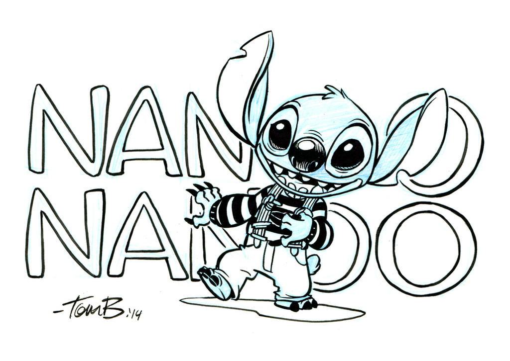 Stitch from Ork by tombancroft