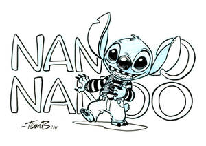 Stitch from Ork by tombancroft