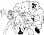 Thundarr, Ookla and Ariel