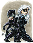Catwoman BlackCat COLOR bancroft