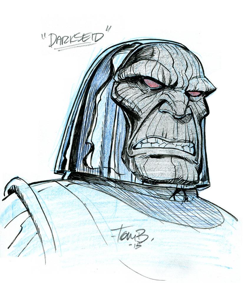 Darkseid by tombancroft