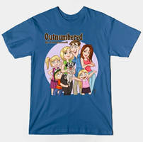 Outnumbered T-shirt design by tombancroft