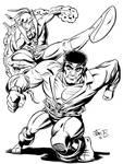 Powerman and Iron Fist: Homage to Gil Kane