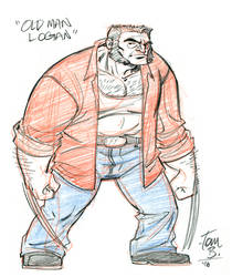 Old Man Logan by tombancroft