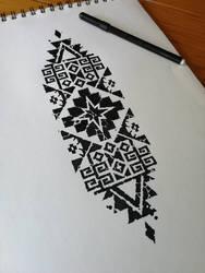 Diseo de inspiracin Mapuche