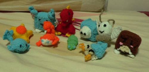 Amigurumi HKO Closed Beta Pets