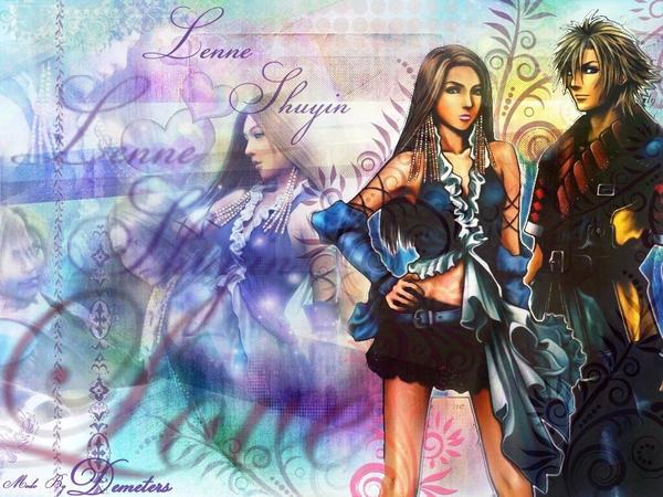 Final Fantasy Lenne And Shuyin Lenne X Shuyin by deme...