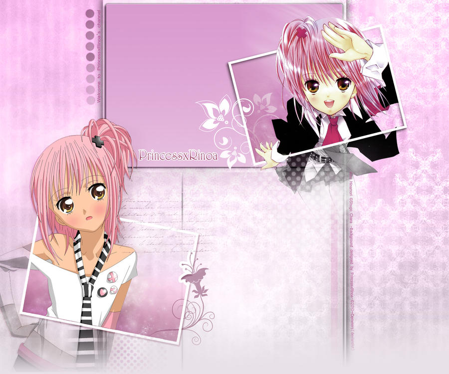 Amu Hinamori_My youtube BG by =demeters on deviantART