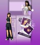 Tifa YT Background + Tutorial