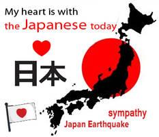 Japan earthquake sympathy by demeters