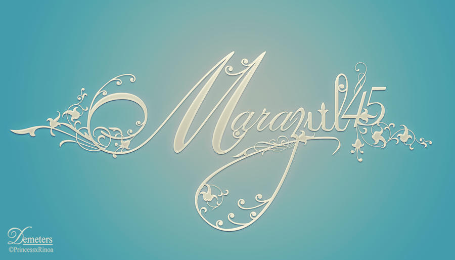 Marazul45 Logo by demeters