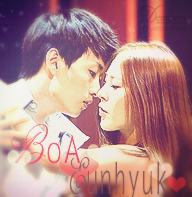 BoA And Eunhuyk Icon by demeters