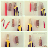 tutorial _ how to make wooden color pencil