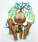 The little wooden 10- Unite