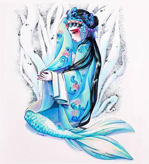Kunqu mermaid- Ashamed