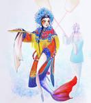 Kunqu mermaid- Royalty