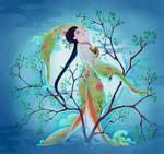 Tree spirit(digital version)