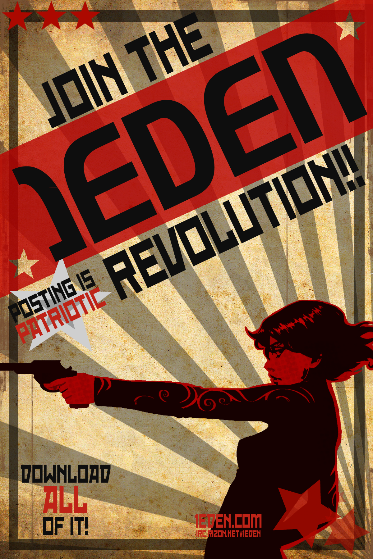 1eden Com Propaganda Poster 1 By Hollybubblecakes On