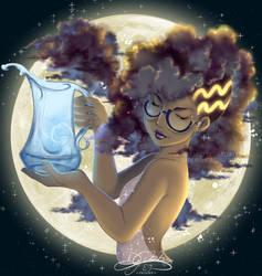 Aquarius - Horoscope w/ Glasses