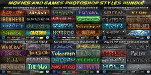 Movies 'n' Games Styles BUNDLE by KoolGfx
