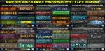 Movies 'n' Games Styles BUNDLE by KoolGfx