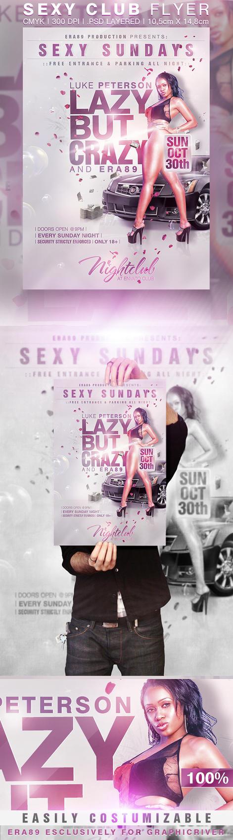 Sexy Sundays Party Flyer by KoolGfx on DeviantArt