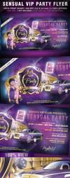 Sensual VIP Party Flyer by KoolGfx