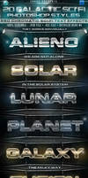 20 Galactic Sci-Fi Chromatic PS Styles