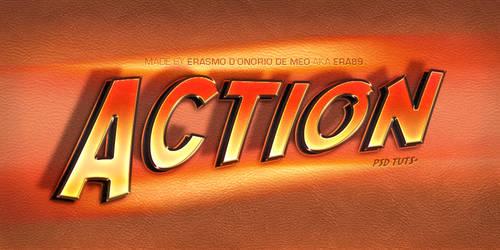 Tutorial - Create an Indiana Jones Text Effect by KoolGfx