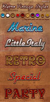 Retro Vintage Photoshop Styles Pack 2
