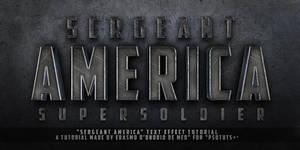 Tutorial - Create a Captain America Text Effect