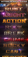 Action Filmatic Photoshop Styles - Text Effects