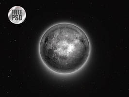 One Circle Layer Style - Moon