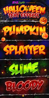 Halloween Text Effects - PS Styles