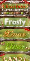 Christmas Photoshop Styles V3
