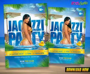 Jacuzzi Party Flyer